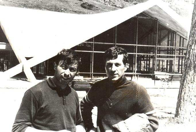 проф. Малчо Малчев дясно в ляво е Атанас Кованджиев