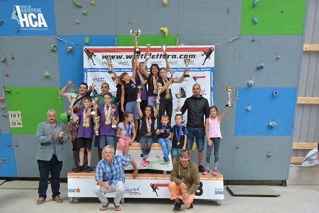Финал на IRCC InterRegional Climbing Cup 2018
