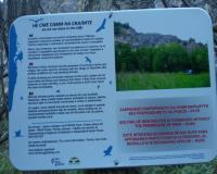 20151121 164046  Забранителни табели на обекта за катерене в с.Табачка край Русе