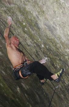 Markus Bock - The Man That Follows Hell 9a+. Photo: Mil?no Zedn?k