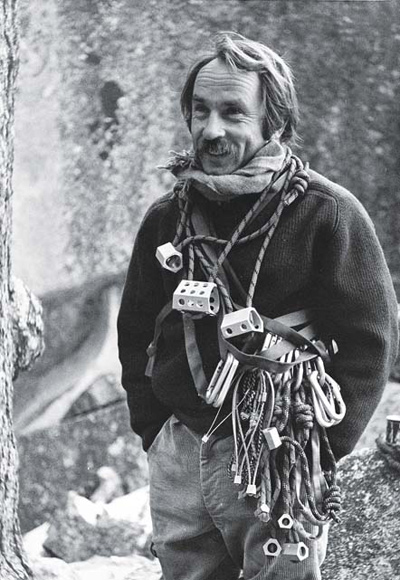 Yvon Chouinard, Photo by Tom Frost.