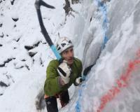 2018 IMG 1017  Държавно първенство по ледено катерене Боянски водопад  2018 год.
